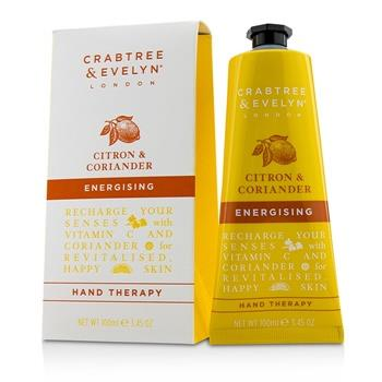 Crabtree & Evelyn Citron & Coriander Energising Hand Therapy 100ml/3.45oz Skincare