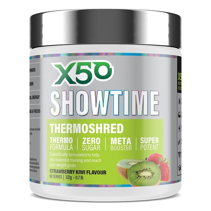 Showtime Thermoshred 60 Serves Pineapple Mango by X50