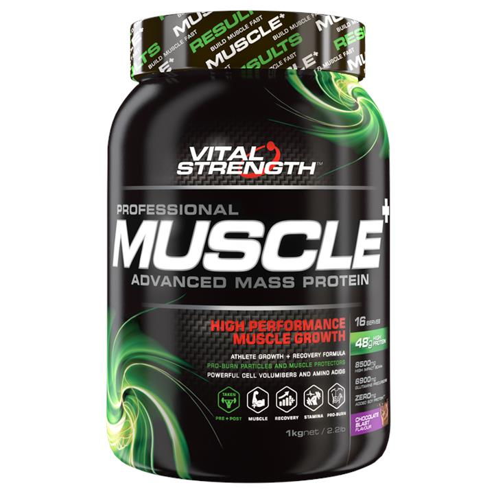 Vital Strength Professional Muscle Advanced Mass Protein 1kg