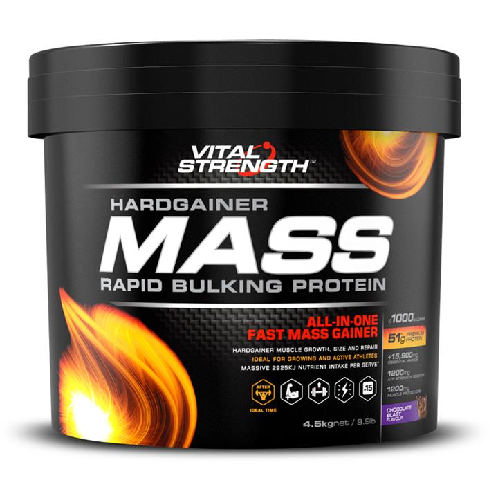 Vital Strength Hardgainer Mass Rapid Bulking Protein 4.5kg