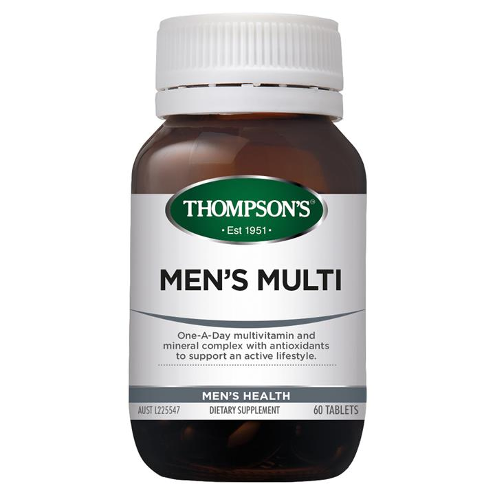 Thompson's Men's Multi 30 tablets