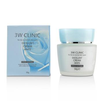 3W Clinic Excellent White Cream (Intensive Whitening) – For Dry to Normal Skin Types 50g/1.7oz Skincare