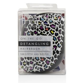 Tangle Teezer Compact Styler On-The-Go Detangling Hair Brush – # Punk Leopard 1pc Hair Care