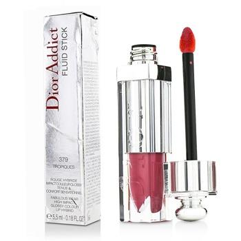 Christian Dior Addict Fluid Stick – # 379 Tropiques (Box Slightly Damaged) 5.5ml/0.18oz Make Up