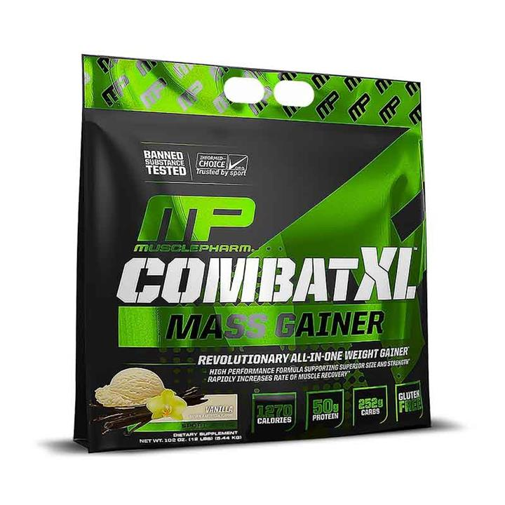 Combat Gainer XL 12lb (5.44kg) Chocolate – Muscle Pharm