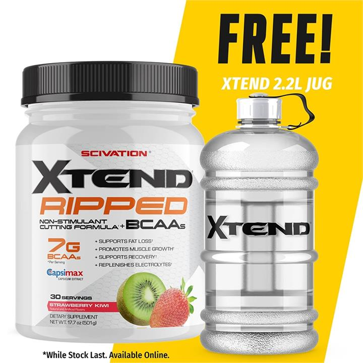 Scivation Xtend Ripped 30 Serves Blueberry Lemonade