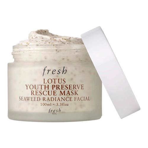 FRESH Lotus Youth Preserve Rescue Mask Seaweed Radiance Facial 100ml