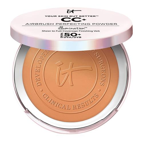 IT Cosmetics Your Skin But Better Cc+ Airbrush Perfecting Powder Spf 50+ Deep