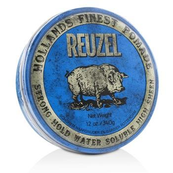 Reuzel Blue Pomade (Strong Hold, Water Soluble) 340g/12oz Hair Care