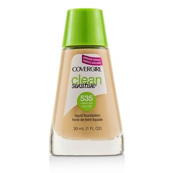 Covergirl Clean Sensitive Liquid Foundation - # 535 Medium Light 30ml/1oz Make Up