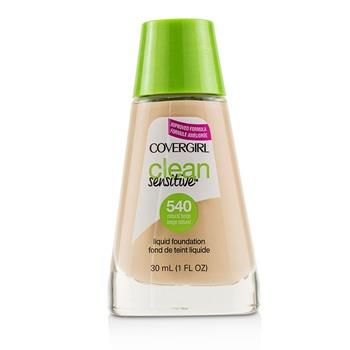 Covergirl Clean Sensitive Liquid Foundation - # 540 Natural Beige 30ml/1oz Make Up