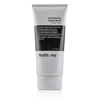 Anthony Conditioning Beard Wash - For All Skin Types (Unboxed) 177ml/6oz Men's Skincare