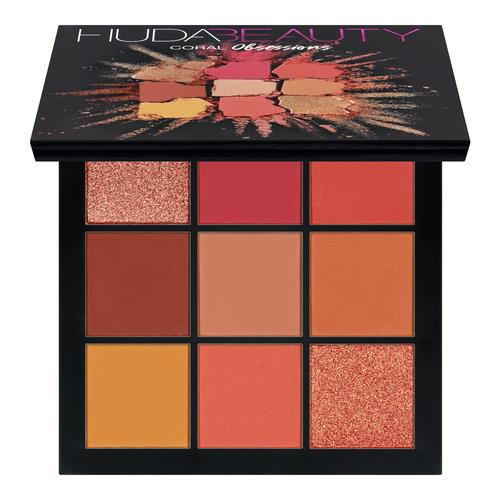 Huda Beauty Obsessions Eyeshadow Palette (Limited Edition) Coral