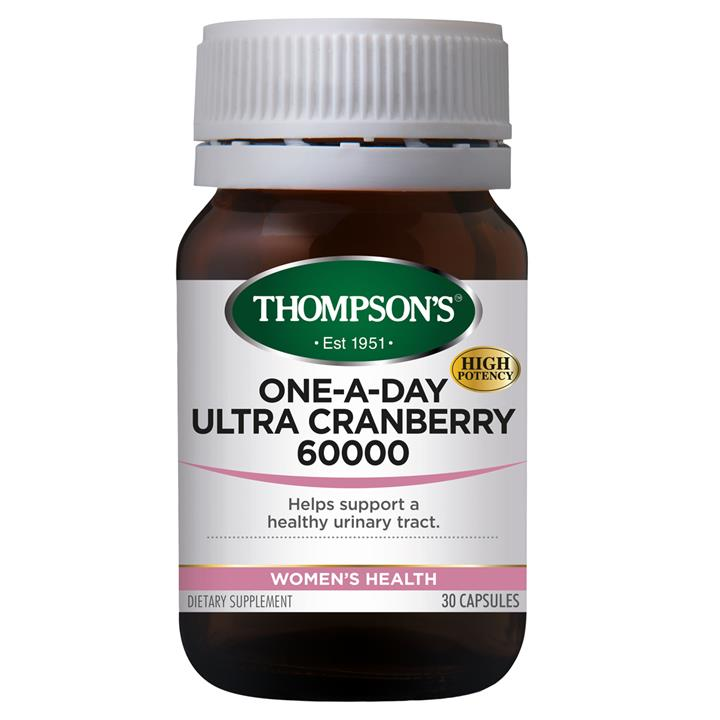 Thompson's One-A-Day Ultra Cranberry 60000 30 capsules