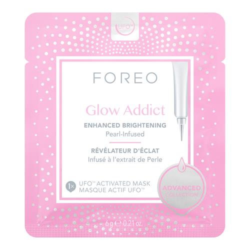 Foreo Glow Addict Enhanced Brightening Pearl Infused Ufo Activated Mask