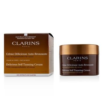 Clarins Delicious Self Tanning Cream For Face & Body 150ml/5.3oz Skincare