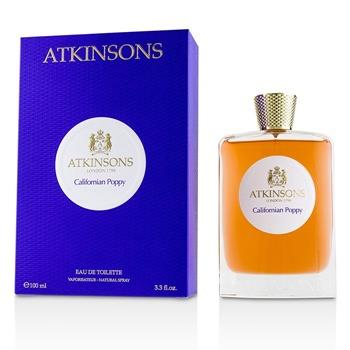 Atkinsons California Poppy Eau De Toilette Spray 100ml/3.3oz Ladies Fragrance