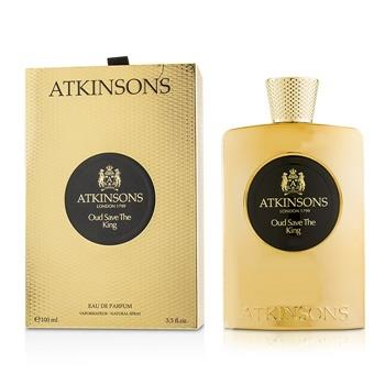 Atkinsons Oud Save The King Eau De Parfum Spray 100ml/3.3oz Men's Fragrance