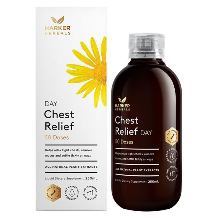 Harker Herbals Chest Relief Day 100ml
