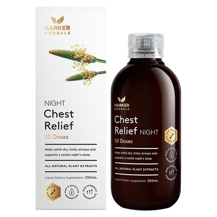 Harker Herbals Chest Relief Night 100ml
