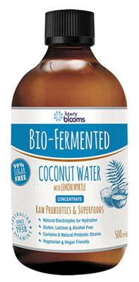 Henry Blooms Bio-Fermented Coconut Water With Lemon Myrtle 500ml