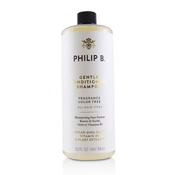 Philip B Gentle Conditioning Shampoo (Fragrance Color Free - All Hair Types) 947ml/32oz Hair Care