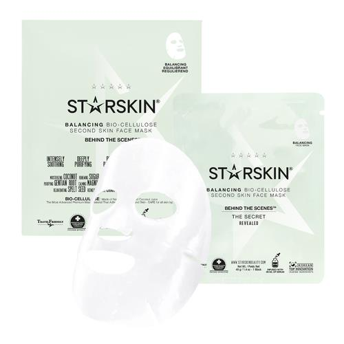 Starskin Behind The Scenes™ Balancing Bio Cellulose Second Skin Face Mask