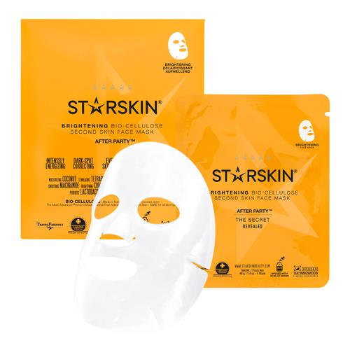 Starskin After Party™ Brightening Bio Cellulose Second Skin Face Mask