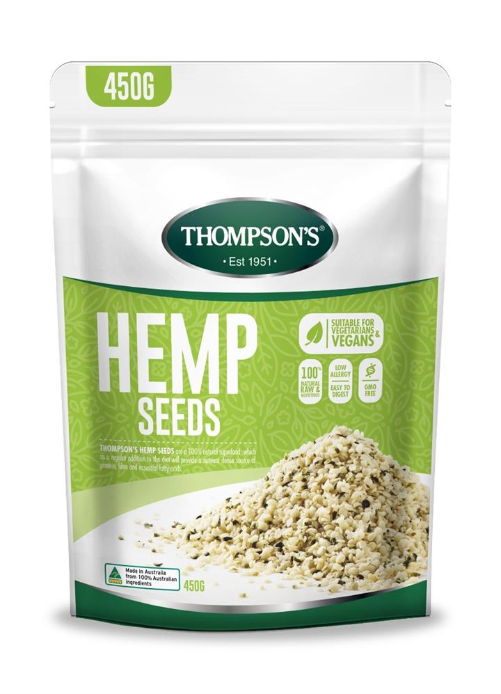 Thompson's Hemp Seeds 450g