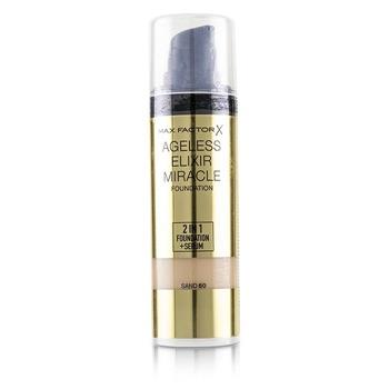 Max Factor Ageless Elixir Miracle Foundation - # 60 Sand 30ml/1oz Make Up