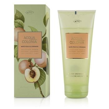4711 Acqua Colonia White Peach & Coriander Aroma Shower Gel 200ml/6.8oz Ladies Fragrance