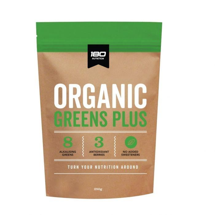 180 Nutrition Greens Plus 250g Unflavoured