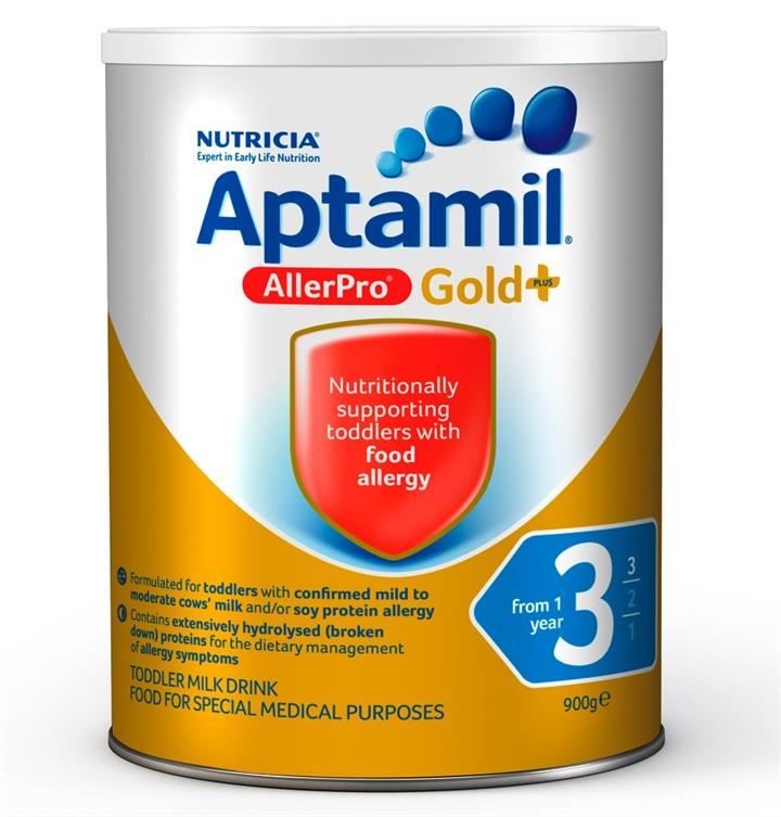 Aptamil Gold Plus Allerpro 3 Toddler Formula (From 1 Year) 900g