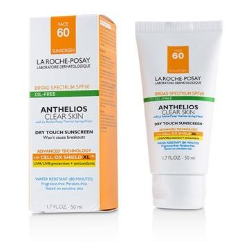 La Roche Posay Anthelios Clear Skin Dry Touch Sunscreen For Face SPF 60 - Oil-Free 50ml/1.7oz Skincare
