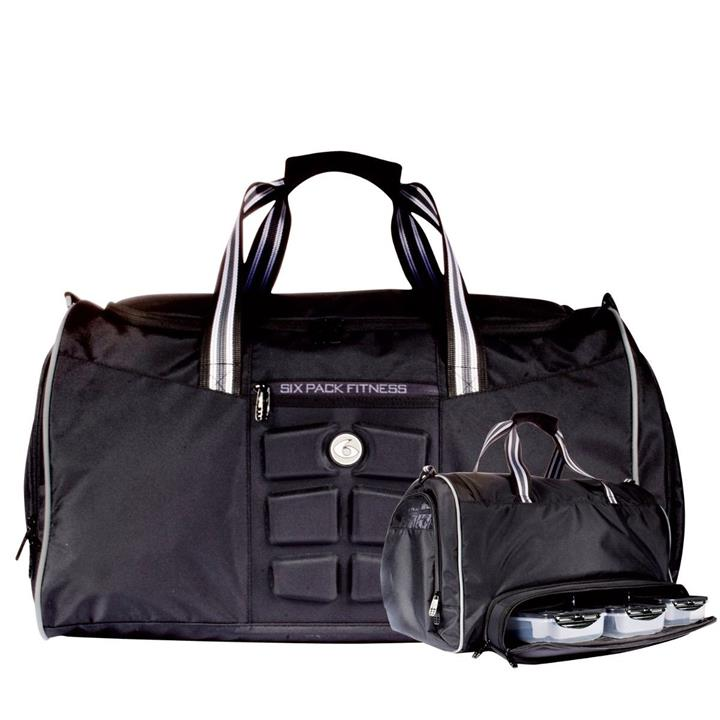 6 Pack Bags Merc Mini Duffle : Black