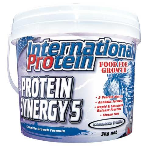 Protein Synergy 5 3kg Strawberry - International Protein