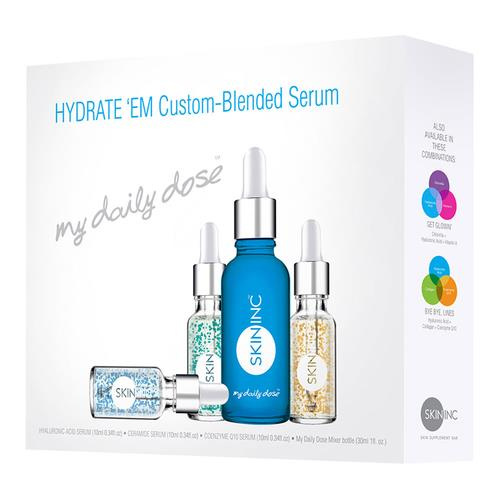 Skin Inc Custom Blended Hydrate 'em (Set Of 4)