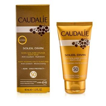 Caudalie Soleil Divin Anti-Ageing Face Suncare SPF 50 High Protection 40ml/1.3oz Skincare
