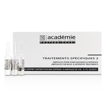 Academie Specific Treatments 2 Ampoules Collagene Marin (Light Yellow) – Salon Product 10x3ml/0.1oz Skincare