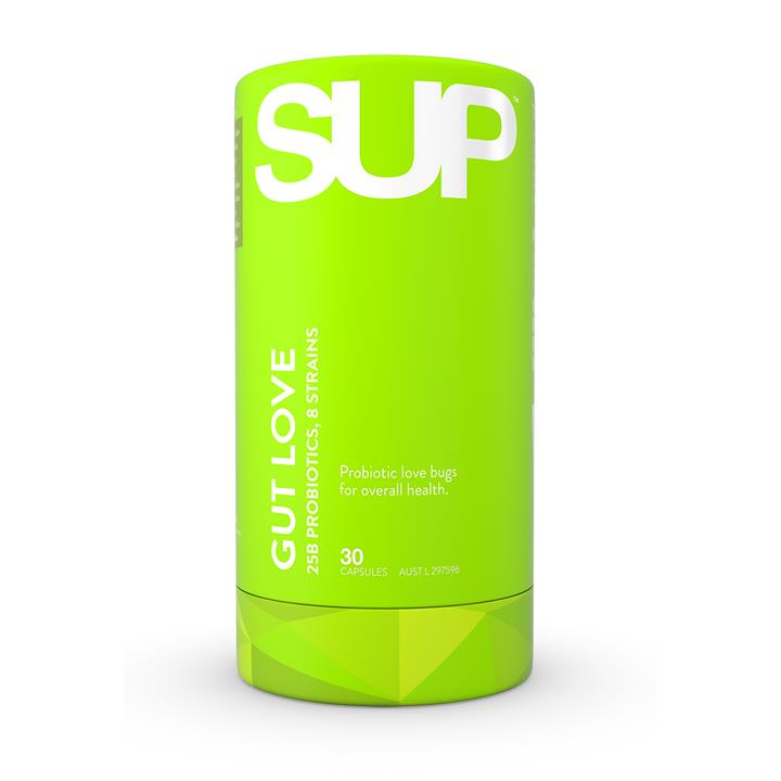 SUP Supplements POP SUP Gut Love 30 Capsules