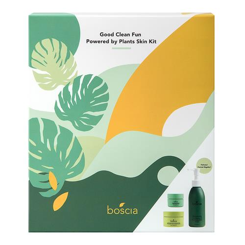 Boscia Good Clean Fun   Powered By Plants Skin Kit (Limited Edition)