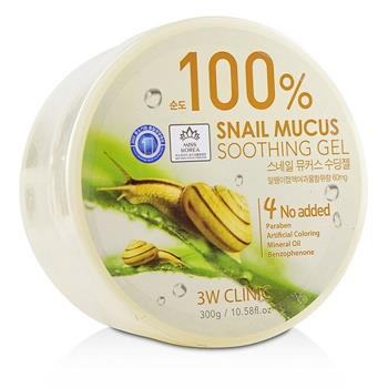 3W Clinic 100% Snail Mucus Soothing Gel 300g/10.58oz Skincare