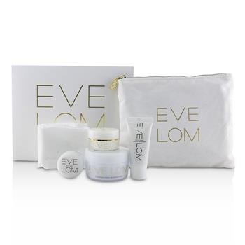 Eve Lom The Radiant Ritual: Cleanser 50ml + Rescue Mask 15ml + Brightening Cream 10ml + Kiss Mix 7ml 4pcs Skincare