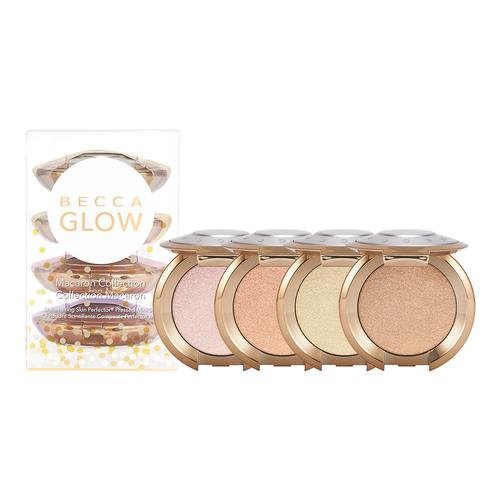BECCA Macaron Glow Kit   Shimmering Skin Perfector™ Pressed Highlighter Mini Set (Limited Edition)