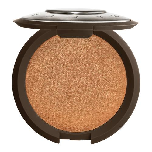 BECCA Shimmering Skin Perfector Pressed Highlighter Chocolate Geode (rich chocolate brown with gold pearl)