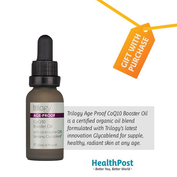 Trilogy Age-Proof Co Q-10 Booster Oil - Freebie 20ml