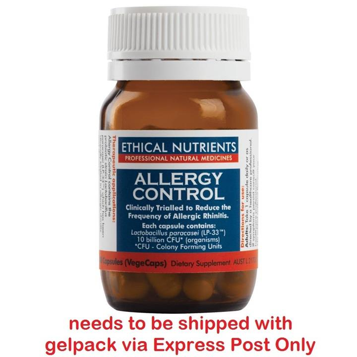 Ethical Nutrients Allergy Control 30 Capsules ▲