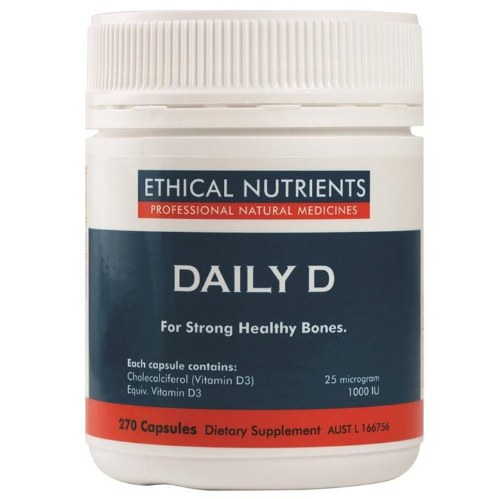 Ethical Nutrients Daily D 270 Softgel Capsules