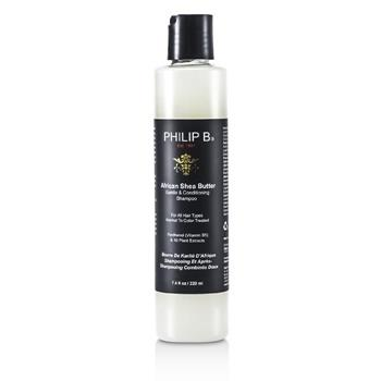 Philip B African Shea Butter Gentle & Conditioning Shampoo (For All Hair Types, Normal to Color-Treated) 220ml/7.4oz Hair Care
