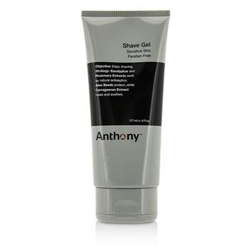 Anthony Logistics For Men Shave Gel (Sensitive Skin) 177ml/6oz Men's Skincare
